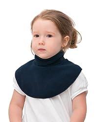 """be baby! 5908226531085 be Baby! Baby & Kinder Winter-Kragen / Wärme-Kragen """"NEK"""" aus weichem Fleece - mit Klettverschluss - BLAU"""