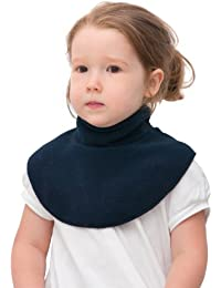 be baby! Baby & Kinder Winter-Kragen/Wärme-Kragen NEK aus weichem Fleece - mit Klettverschluss