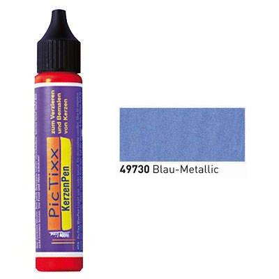 PicTixx KerzenPen, 25ml, Blau Metallic [Spielzeug]