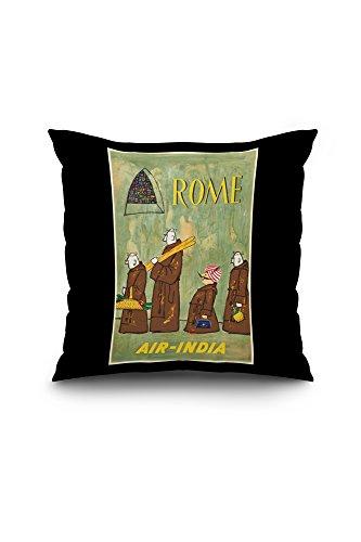 air-india-rome-vintage-poster-artist-asiart-india-c-1970-20x20-spun-polyester-pillow-case-black-bord