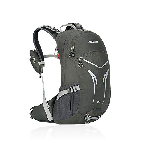 TnXan 20L MTB Mountain Bike Backpack travel Backpack Waterproof Sports Bicycle Bag Casual Daypacks Riding Hiking Climbing Bag Rucksack with Rain Cover (Lila Rucksack Von Under Armour)