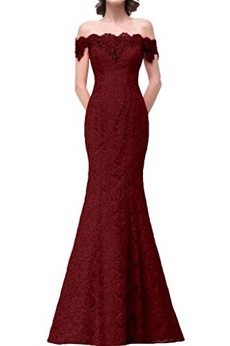 Missdressy - Robe - Sirène - Femme rouge bordeaux
