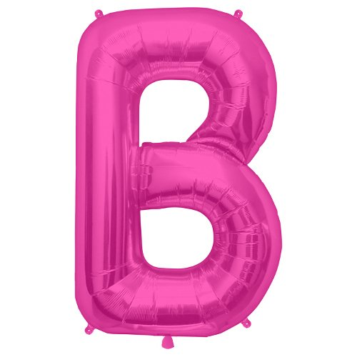 Northstar Folienballon 00171Schneidbrett Buchstabe b-magenta, 86,4cm Pink