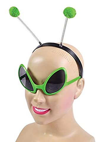 Sci Fi Outfits - Alien Set (Glasses + Headband) Costume for