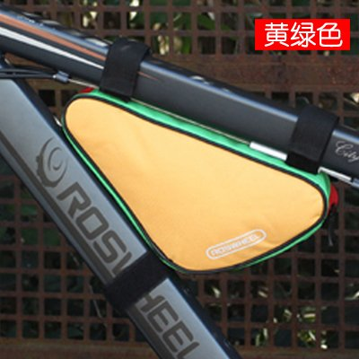 XY&GKFahrradtasche Dreieck Tasche Strahl Pack Mountain Car Front Bag Satteltasche Oberrohr Fahrrad Zubehör Kit Reiten Ausrüstung, machen Ihre Reise angenehmer A