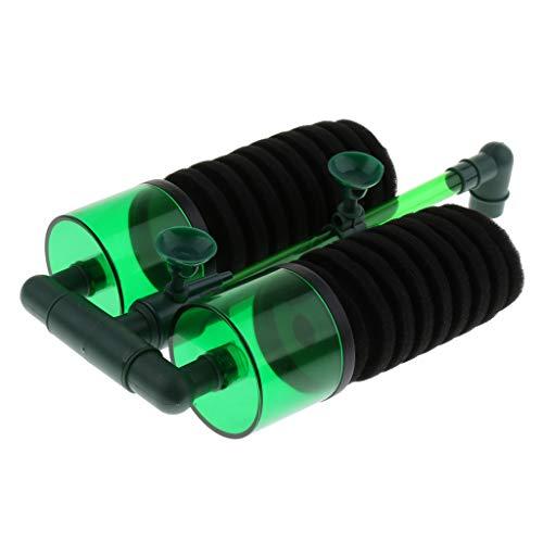 KESOTO Aquarium Fisch Tank Filter Aquariumfilter Schwammfilter, arbeitet mit Luftpumpe - Typ 2 L -