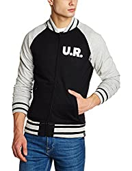 Lee Mens Cotton Sweatshirt (8907649225219_L28935CB0G4400S_Jsw-Black)