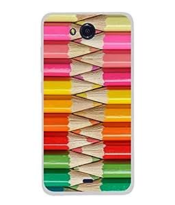 PrintVisa Designer Back Case Cover for Micromax Canvas Play Q355 (Colourful Pencil Set Design)