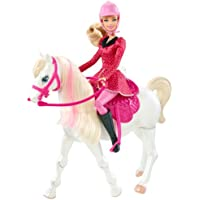 Barbie Train and Ride Horse and Doll