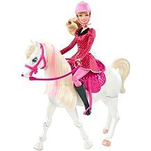 Mattel Y6858 - Barbie e Cavallo Lezione di Equitazione