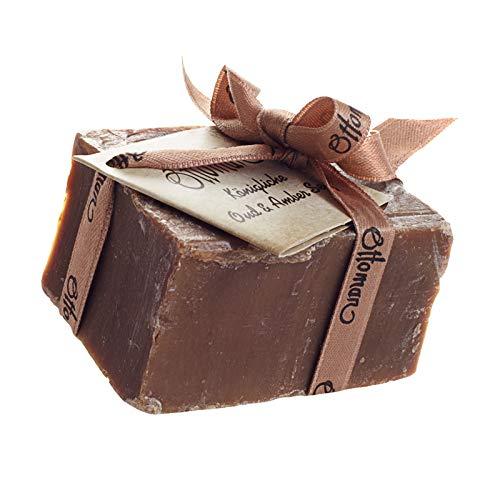 Edel und selten Royal Oud und Amber Seife ca. 150 g, königlich sinnlich außergewöhnliches Dufterlebnis