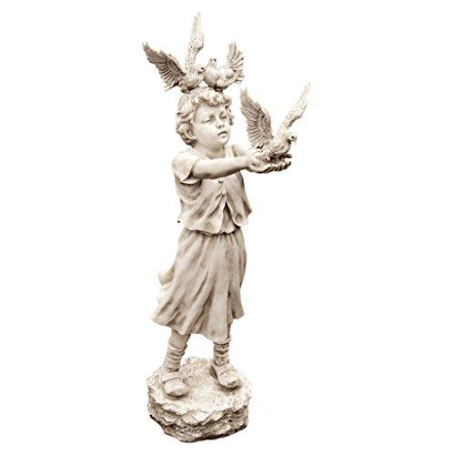 Design Toscano Die Tauben vom Sankt-Markus-Platz, Skulptur