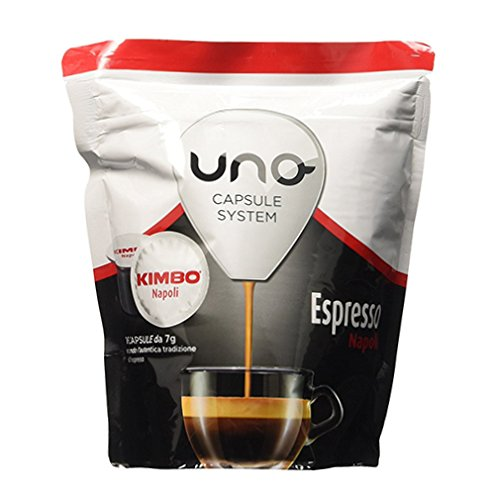 Kaffee-Kapseln für Espressomaschine Caffe' Kimbo Uno, Mischung Espresso Napoli (48)