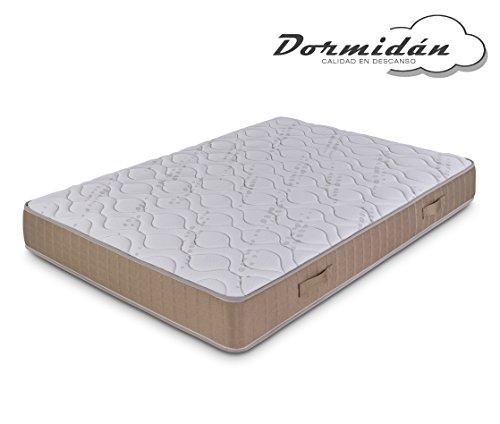 Dormidán - Colchón articulado viscoelastico Ergo Fresh, tejido stretch, medida 80 x 190 cm