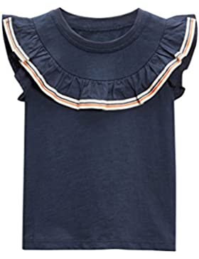 next Niñas Camiseta Detalle Volante (3 Meses-6 Años) Estándar
