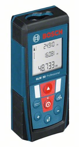 Preisvergleich Produktbild Bosch Laser-Entfernungsmesser GLM 50 Batterien Ladegerät FH-Sondermodell