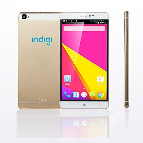 2016neue Indigi® M8GSM 3G (Gold) 15,2cm Android DualCam Smartphone entsperrt