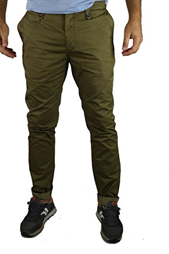 burberry-pantaloni-uomo-marroncino-cotone-size-40