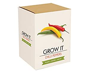Gift Republic: Grow It. Grow Your Own Chilli Plants