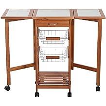Mesa auxiliar cocina for Mesa auxiliar de cocina para microondas