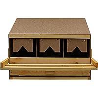 Legenest, Legenester, Abrollnest, Hühnernest, Nest, Einlegematten 3 Legebuchten (Oberteil)