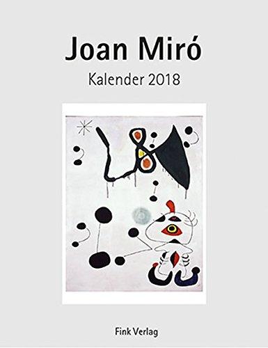 Joan Miro 2018: Kunst-Einsteckkalender