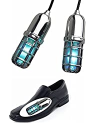 Ultraviolet (UV) Schuh Sanitizers/Parfum/Sterilisator/Tötet Fußnägel Pilzbefall (Silber)