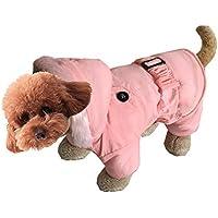 cappotto pet hoodies di inverno caldo morbido accogliente corsetto giù