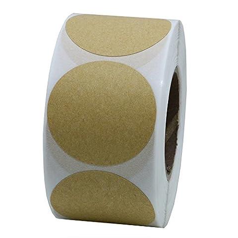hybsk 38mm rund Papier Aufkleber Etiketten Verpackung Dichtungen Crafts Hochzeit Favor Tag Topper Etiketten 500Pro Rolle 1 roll