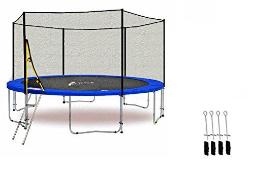 ls-t400-pa13-lifestyle-proaktiv-trampolino-da-giardino-400cm-rete-di-sicurezza-scala-fissaggio-al-su