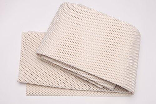 Grip-it Premium Lock Extra gepolstertes Anti-Rutsch-Teppich-Pad für Teppiche auf harten Böden Modern 5x8 elfenbeinfarben - 8 X Teppich-pad, 5