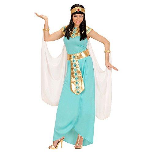 Imagen de disfraz de reina egipcia azul para mujer talla grande  xl alternativa
