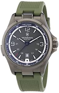 Victorinox Swiss Army Herren-Armbanduhr XL Night Vision Analog Quarz Kautschuk 241595