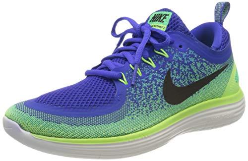 Nike Herren Free Rn Distance 2 Laufschuhe, Blau (Bleusouverain/vertelectro/Noir), 43 EU