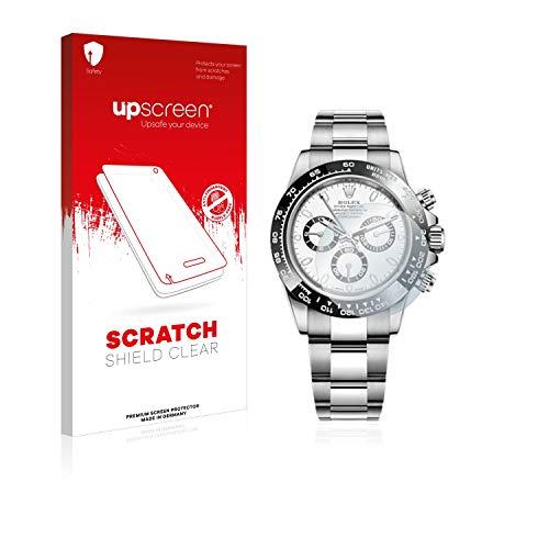 upscreen Scratch Shield Schutzfolie für Rolex Cosmograph Daytona (40 mm) - Kristallklar, Kratzschutz, Anti-Fingerprint - Cosmograph Daytona Rolex