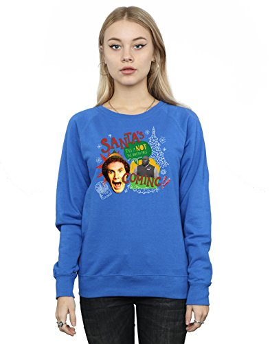 Elf Damen North Pole Sweatshirt XX-Large Königsblau -