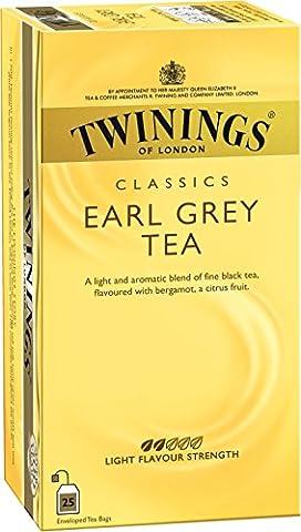 Twinings Earl Grey 50g, 25 Beutel, 1er