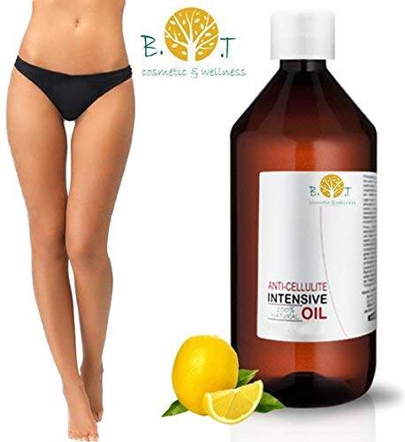 41aKOxk0 ZL - Aceite Anti Celulitis 250 ml Con Aceites Esenciales Triple acción: drenante, quema grasa y reafirmante. Penetra 6 veces mejor que una crema anti celulitis