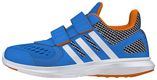adidas Jungen Hyperfast 2.0 Cf K Turnschuhe Azul (Azuimp / Ftwbla / Naruni)