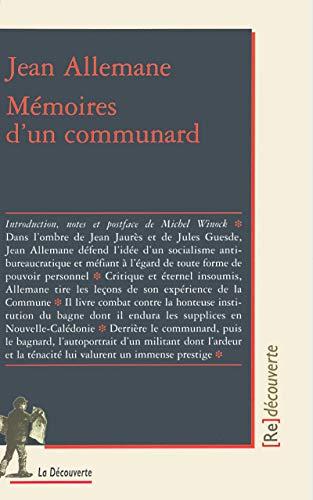 Mémoires d'un communard par Jean ALLEMANE