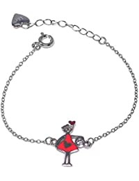 2f36333016 Bracciale in argento Agatha Ruiz de la Prada 13 centimetri. agathita rosa  [AB5684]