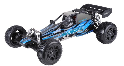XciteRC-30203000-RC-Car-SandStorm-one-82WD-Dune-Ready-To-Race-car-scale-18-Brushless-with-24-GHz-Remote-Control-Blue