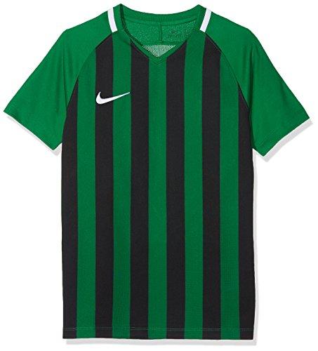 Nike Kinder Striped Division III Jersey SS Trikot, Mehrfarbig (Pine Green/Black/White),XS Preisvergleich