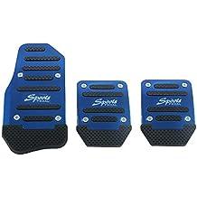 Funda de pedal de freno antideslizante, de aleación de aluminio para coche manual y automático