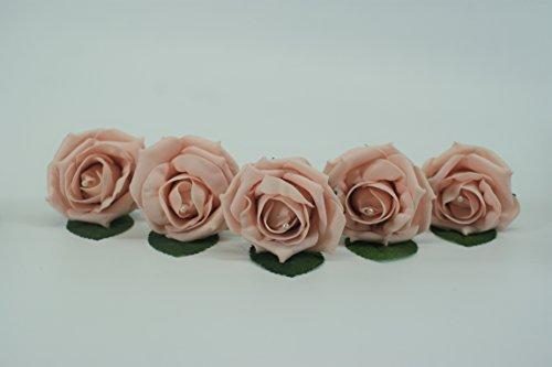 1Hochzeit Knopfloch, mit Perle-perfekt für Hochzeiten, Partys und andere Anlässe. Auch erhältlich sind Posy, Corsage, Tischdekorationen und Girlanden zu Match. Vintage Peach -