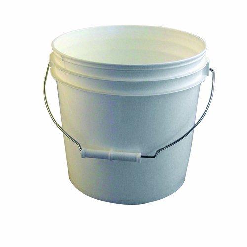 Bon 84-230 3-1/2-Gallon Reinforced Plastic Bucket, White by BON