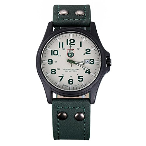 familizo-vintage-classic-mens-waterproof-date-display-leather-strap-quartz-army-watches-green