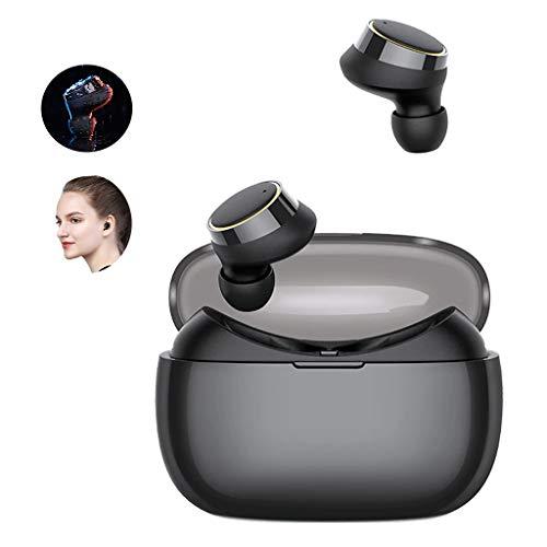 WLPT Drahtlose Bluetooth-Ohrhörer, Mini Dual Wireless Bluetooth-Kopfhörer wasserdichte Sport-In-Ear-Ohrhörer JR-T05 Bluetooth 4.2 TWS Wireless Earphone für iOS und Android -