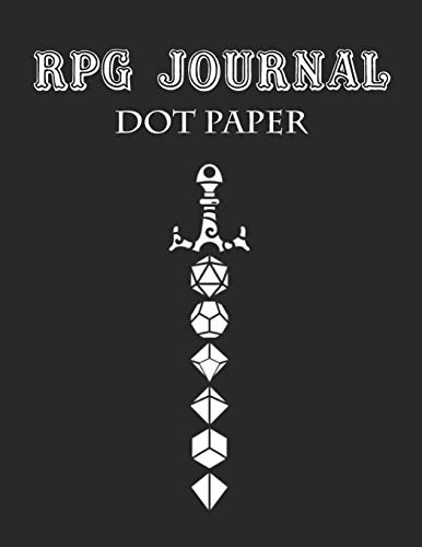 RPG Journal For Dungeon Master Notes, DOT PAPER 120 pages: Role Playing Game Notebook With 120 Pages DOT PAPER | 8.5x11 | RPG Notebook For Dungeon ... Notes | Journal For Role Playing Gamers - Master Game Rpg