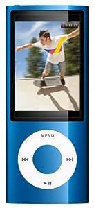 "Apple iPod Nano (5ème Génération) Ecran 2,2 ""  Caméra 8 Go Bleu"